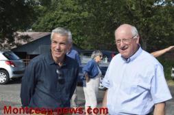 Communauté Urbaine Creusot-Montceau : Le Président David Marti visite Saint-Berain-sous-Sanvignes