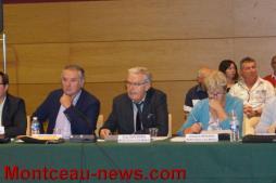 Conseil de communauté urbaine Creusot-Montceau...