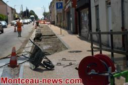 Blanzy : Visite de chantier (CCM)