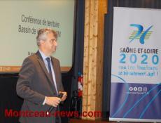 Conseil départemental de Saône-et-Loire :  Conférence territoriale