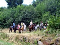 Centre Equestre du Chêne Vert à Saint-Eusèbe(Sortir)