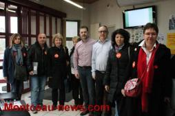 Social – Rencontre élus de Saint-Vallier et représentants de la CFDT interco 71