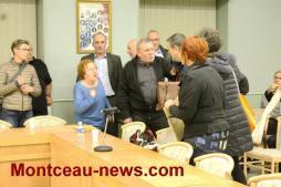 Au conseil municipal à Saint-Vallier, jeudi soir