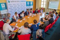 Conférence des financeurs (Saôn-et-Loire)