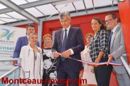 Le Président du Conseil départemental au Collège Saint Exupéry à Montceau...