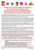 Nouvelle journée nationale de manifestations, le 14 juin (Social)