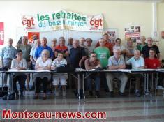 Montceau – CGT Retraités multipro du Bassin Minier
