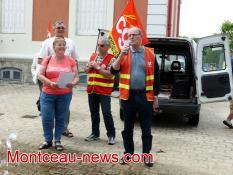 Réactualisé 18 h - Journée nationale d'action des retraités (Montceau - social)
