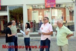 Manifestation journée nationale du 20 juin