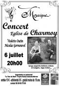 Concert église Charmoy
