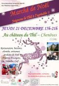 Marché de Noël au Château du Thil - Chenôves (71)