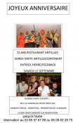 Anniversaire du restaurant « Douce Heure Antillaise » (Montceau)
