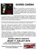 Montceau : Soirée cinéma au Syndicat des Mineurs ce jeudi 11 juillet