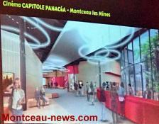 Projet de nouveau cinéma à Montceau