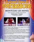 Rappel - Le Grand Cirque de Saint-Pétersbourg à Montceau (Sortir)