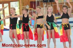 Etoile gymnique de Ciry-le-Noble au gymnase Potignon à Saint-Vallier