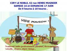 Vide maison à Ciry-le-Noble