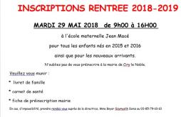 Ecole maternelle Jean Macé (Ciry-le-Noble)