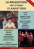 """Concert """"solidaire"""" à La Briquetterie à Ciry-le-Noble (Sortir)"""