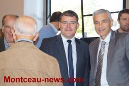 Visite de Christophe SIRUGUE, Secrétaire d'Etat chargé de l'Industrie..