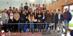 Saint-Vallier: au gymnase Potignon