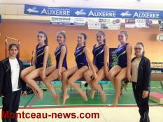 CSL Gym St Vallier : Championnat régional par équipe GAF