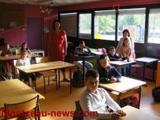Rentrée des classes 2017  à Blanzy