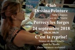 Club Dessin&Peinture de Perrecy les Forges