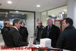 Inauguration de la nouvelle agence du Crédit mutuel à Génelard