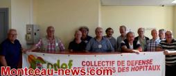 Montceau-les-Mines : Point presse avec le CODEF