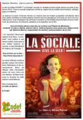 """Projection au Plessis de  """"La Sociale"""""""