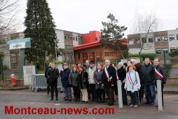 Manifestation – Journée «collège mort» à Copernic à Saint-Vallier
