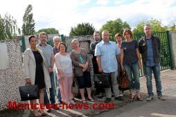 Collège Copernic à Saint-Vallier, boycott du conseil d'administration des représentants des parents d'élèves, des enseignants, de la municipalité et du département