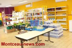 Après la collecte alimentaire les 9, 10 et 11 juin 2017 (CCAS Saint-Vallier)