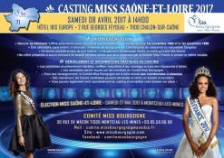 Casting pour les candidates de Saône et Loire
