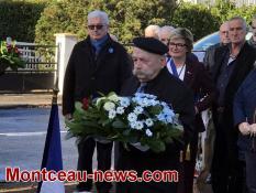 Commémoration du 11 novembre à Saint Bérain-sous-Sanvignes et Montceau