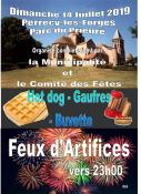14 juillet à Perercy-les-Forges (Sortir)