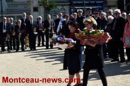 Journée nationale du souvenir des victimes et des héros de la déportation (Montceau)