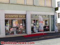 Montceau  :  Fermeture définitive de Country Shop en octobre