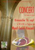 Concert de trompes de chasse à Mont-Saint-Vincent