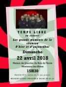 """""""Temps Libre"""" en concert à Montceau"""