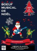 Vendredi 16 décembre, bœuf musical spécial Noël à l'ECLA à Saint-Vallier