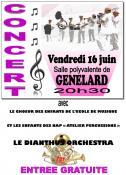Concert à Génelard
