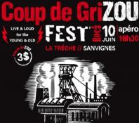 Première édition du festival « COUP DE GRIZOU » à Sanvignes
