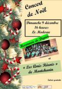 Concert de Noël à Montchanin