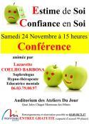 Conférence : « Estime de soi, confiance en soi » (Montceau)