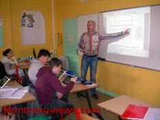 Education nationale – Collège Copernic à Saint-Vallier