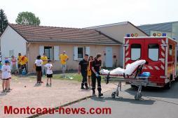 Mauvaise chute pour un élève de 6e du collège Copernic à Saint-Vallier