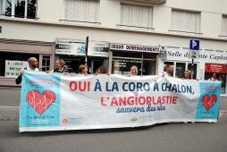 Coronarographie-angioplastie au Centre Hospitalier de Chalon-sur-Saône