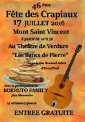 46ème foire des Crapiaux (Mont-Saint-Vincent)
